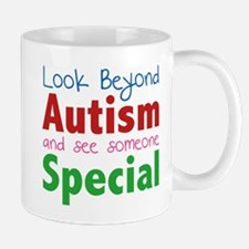 Look Beyond Autism And See Someone Special Mug