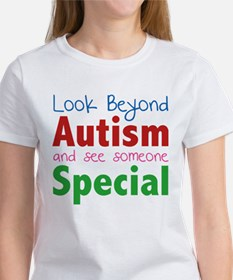 Look Beyond Autism And See Someone Special Tee