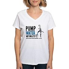 Pump Water Not Bullets T-Shirt