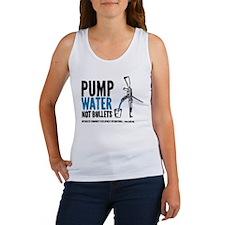 Pump Water Not Bullets Tank Top