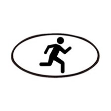Running person Patches