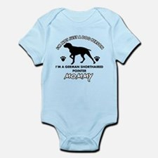 German Shorthared dog breed designs Infant Bodysui