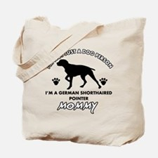 German Shorthared dog breed designs Tote Bag