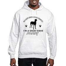 Great Dane dog breed designs Hoodie Sweatshirt