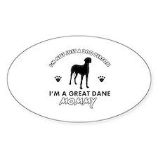 Great Dane dog breed designs Decal
