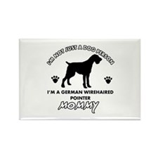 German Wirehaired Pointer dog breed designs Rectan
