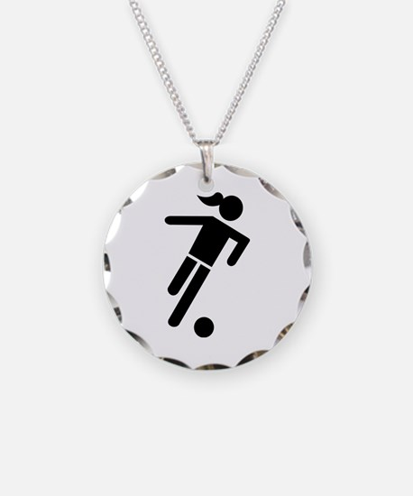 Women soccer Necklace