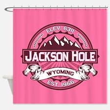 Jackson Hole Honeysuckle Shower Curtain