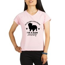 Glen dog breed design Performance Dry T-Shirt