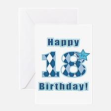 Happy 18th Birthday! Greeting Card