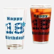 Happy 18th Birthday! Drinking Glass