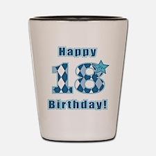 Happy 18th Birthday! Shot Glass