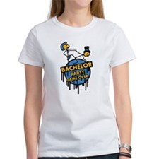 game_over_bachelor_party_graffiti_stamp T-Shirt