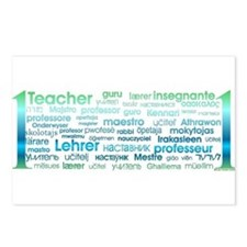 # 1 Teacher Postcards (Package of 8)