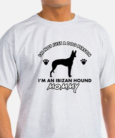 Ibizan Hound dog breed design T-Shirt