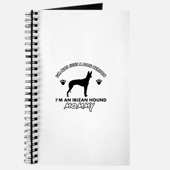 Ibizan Hound dog breed design Journal