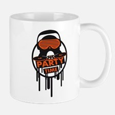 party_time_penguin_graffiti_stamp Mug
