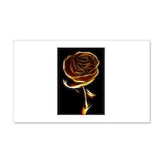 Fire Rose 22x14 Wall Peel