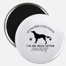 Irish Setter dog breed design Magnet