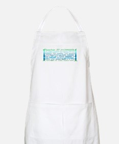 # 1 Teacher Apron