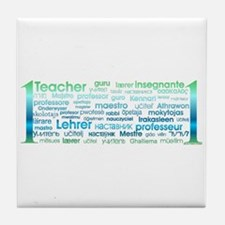 # 1 Teacher Tile Coaster
