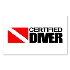 Certified Diver Decal