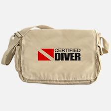Certified Diver Messenger Bag