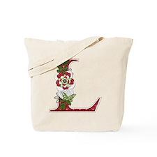 Monogram Letter L Tote Bag