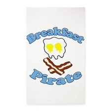 Breakfast Pirate 3'x5' Area Rug