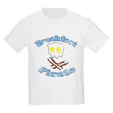 Vintage Breakfast Pirate T-Shirt