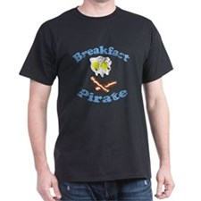 Vintage Breakfast Pirate T-Shirt