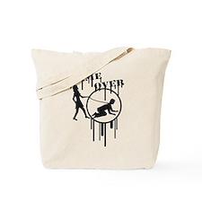 game_over_graffiti_stamp Tote Bag