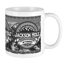 Jackson Hole Grey Small Mug