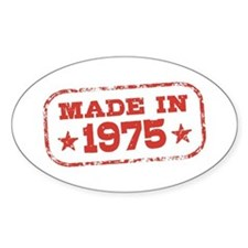 Made In 1975 Decal