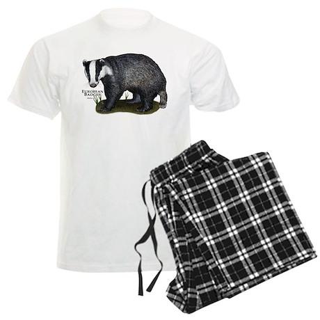 European Badger Men's Light Pajamas