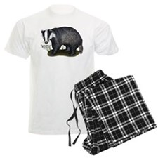European Badger pajamas