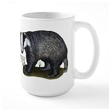 European Badger Mug