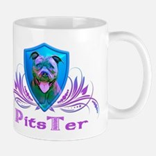 PitsTer, A Pit Bull Dog Lover Mug
