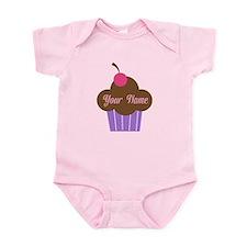 Personalized Cupcake Onesie