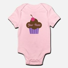 Personalized Cupcake Onesie