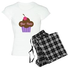 Personalized Cupcake Pajamas