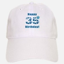 Happy 35th Birthday! Baseball Baseball Baseball Cap