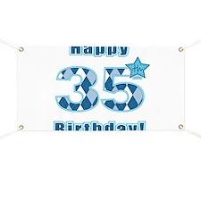 Happy 35th Birthday! Banner