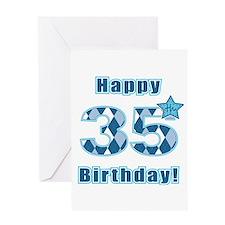 Happy 35th Birthday! Greeting Card