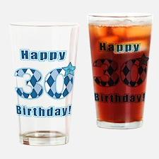 Happy 30th Birthday! Drinking Glass