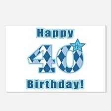 Happy 40th Birthday! Postcards (Package of 8)