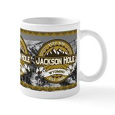 Jackson Hole Tan Small Mug