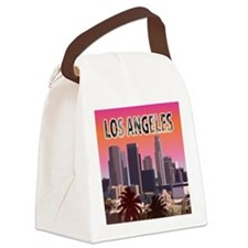 Cute Los angeles angels Canvas Lunch Bag