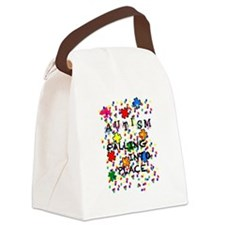 AUTISM - FALLING INTO PLACE Canvas Lunch Bag