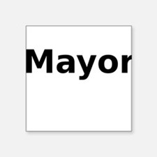 Mayor Sticker